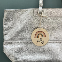 Rainbow Bag Tag - Arlo and Co