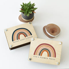 Rainbow Flower Press - Arlo and Co
