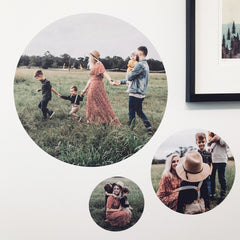 Round Photo Decal - Large - Arlo and Co