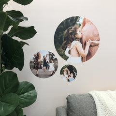 Round Photo Decal Set - Medium (X 2) - Arlo and Co