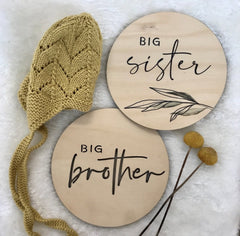 Sibling Announcement Card - Arlo and Co