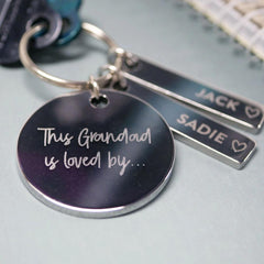 Stainless Steel Keytag - Arlo and Co