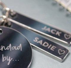 Stainless Steel Personalised Tag - Arlo and Co