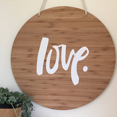 Super Sized Hand-Painted Love Sign - Arlo and Co