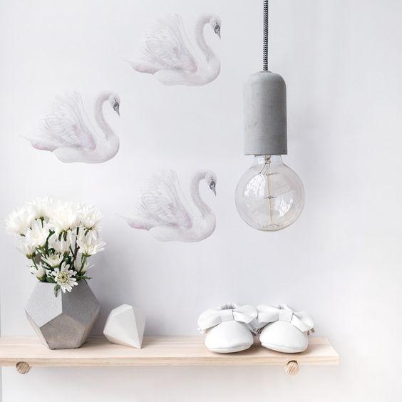 Swan Decal Set