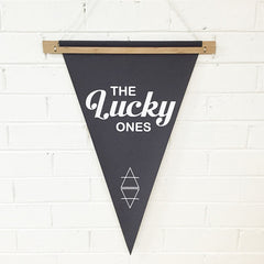 THE LUCKY ONES PENNANT - Arlo and Co - 2