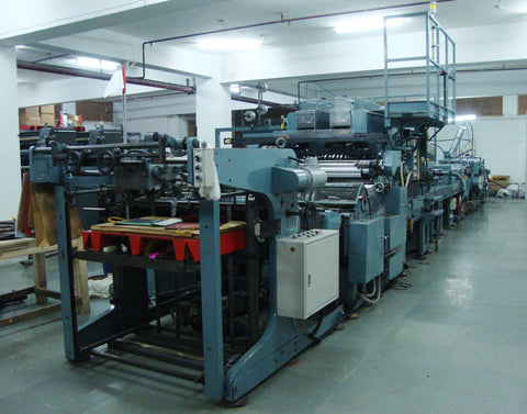 Automated Paper Bag Manufacturing Machine