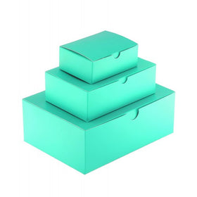 Aqua Green Gift Box Matt Laminated - 1 Piece