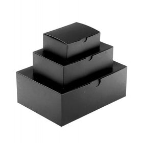 Black Gift Box Matt Laminated - 1 Piece