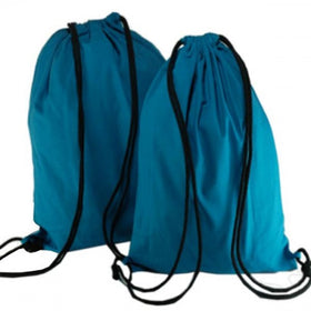 Dark Blue Natural Cotton Backpack Bags