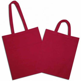 Fuchsia Natural Cotton Bags