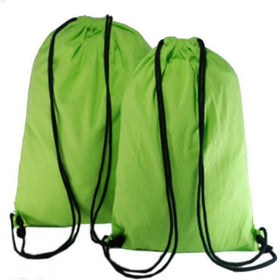 Green Natural Cotton Backpack Bags