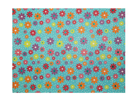 Dixie Daisy Green Gift Wrapping Sheets