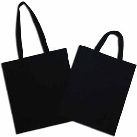 Black Natural Cotton Bags