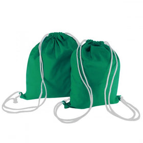 Green Canvas Backpack Bags