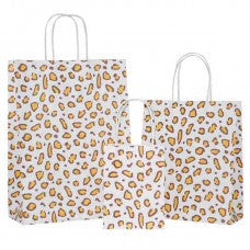 Leopard Carrier Bag Twisted Handle