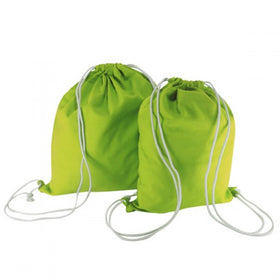 X Mas Green Canvas Backpack Bags