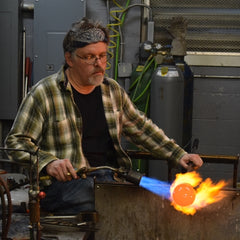 Heath Conner, glass artist