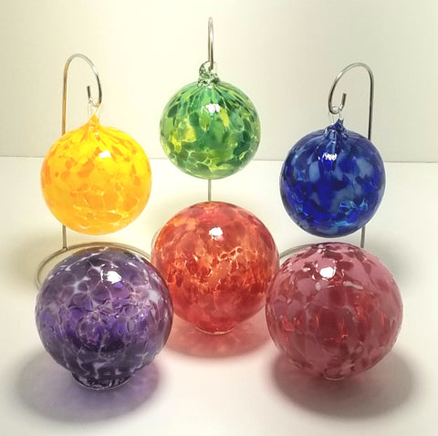 Blown Glass Ornaments and Floats