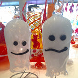 blown glass ghosts