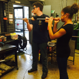 glassblowing birthday party