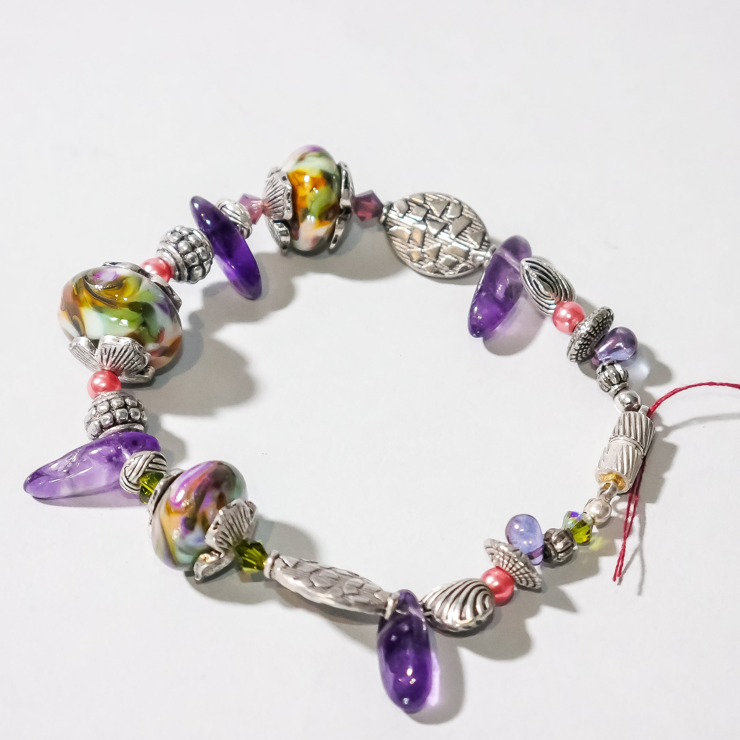 Charm Bracelet made with love by local artist Lee Mannikko