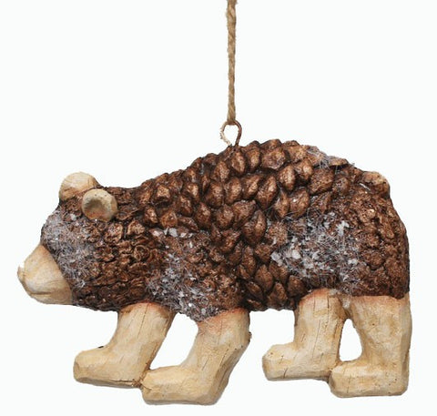 Bear Ornament, Bear Ornaments, Rustic Christmas Ornament, Home Decor Christmas Decorations