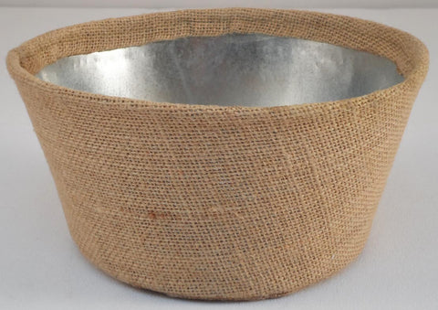 Decor Burlap Planter