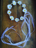 Daisy Hair Wreath, Bridal Hair, Daisy Wreath, Flower Girl Hair wreath, Head band, Rustic wedding hair Daisy Wedding, Flower girl Flower Hair