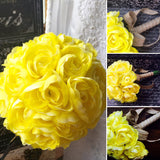 Yellow Ranunculus Wedding Bouquet, Yellow Bridal bouquet, Yellow Bouquet, Yellow Wedding Bouquet, Rustic Bouquet, Rustic Wedding