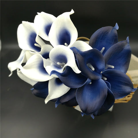 Calla Lilies Real Touch Flowers For Wedding Bouquets Centerpieces artificial flowers for wedding decor