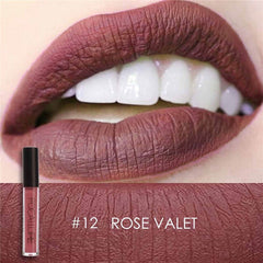 Matte Liquid Lipstick Waterproof Moisturizer Smooth Lip Stick Long Lasting Lip Gloss Cosmetic Beauty Makeup, gift - Silk Flowers By Jean