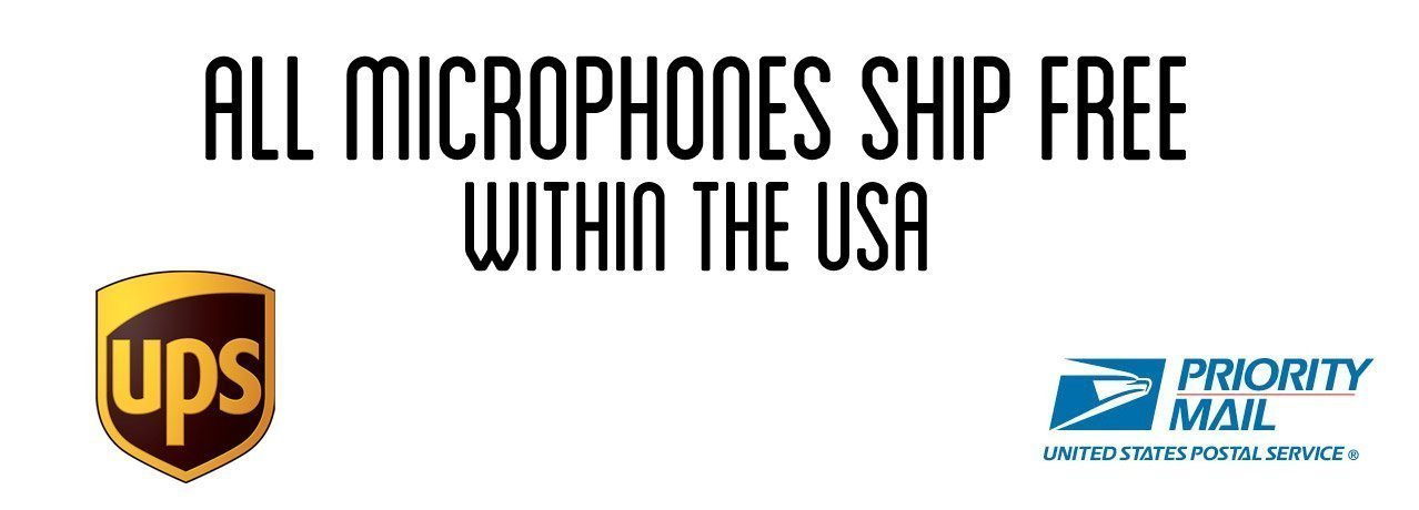 Free Shipping on Microphones