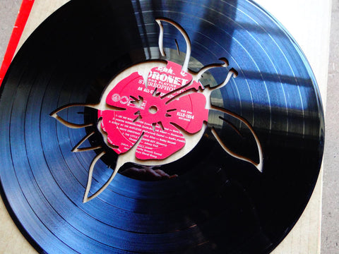 Turtle - Vinyl Record Art - Cowan Creative