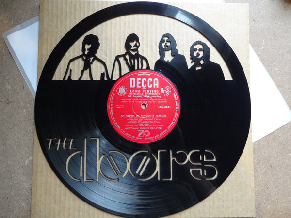 Doors - Vinyl Record Art - Cowan Creative