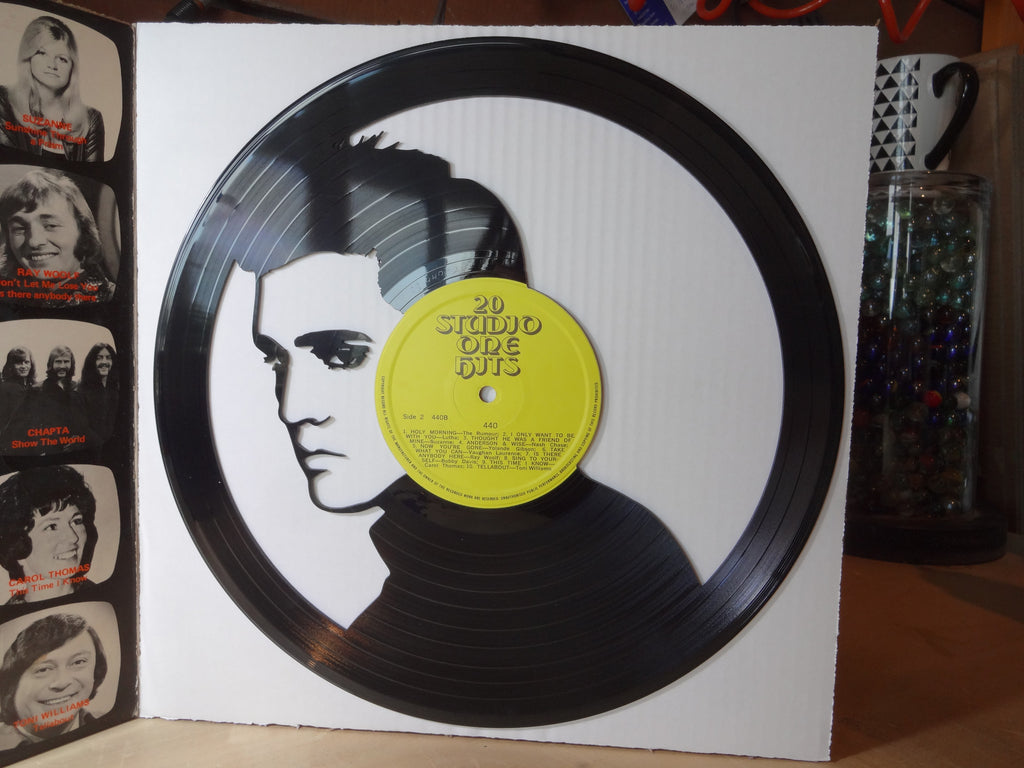 Elvis - Vinyl Record Art - Cowan Creative