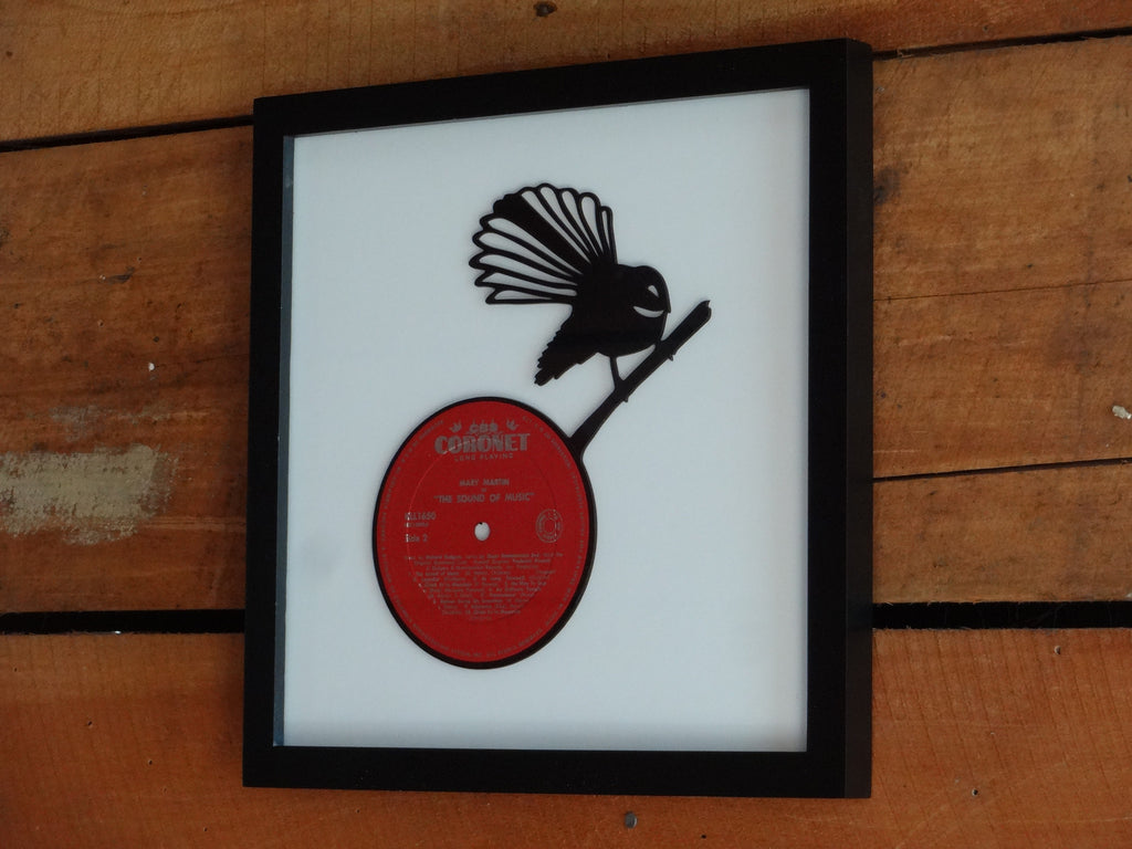 Fantail - Small - Vinyl Record Art - Cowan Creative