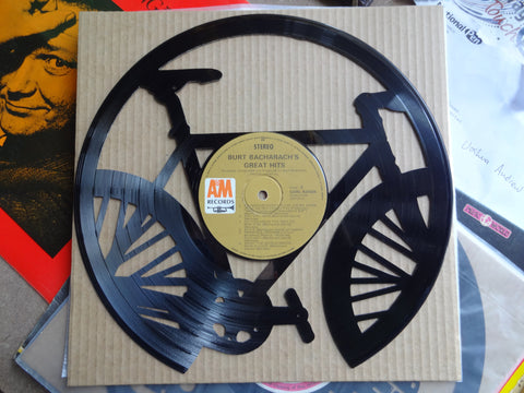 Bicycle - Vinyl Record Art - Cowan Creative
