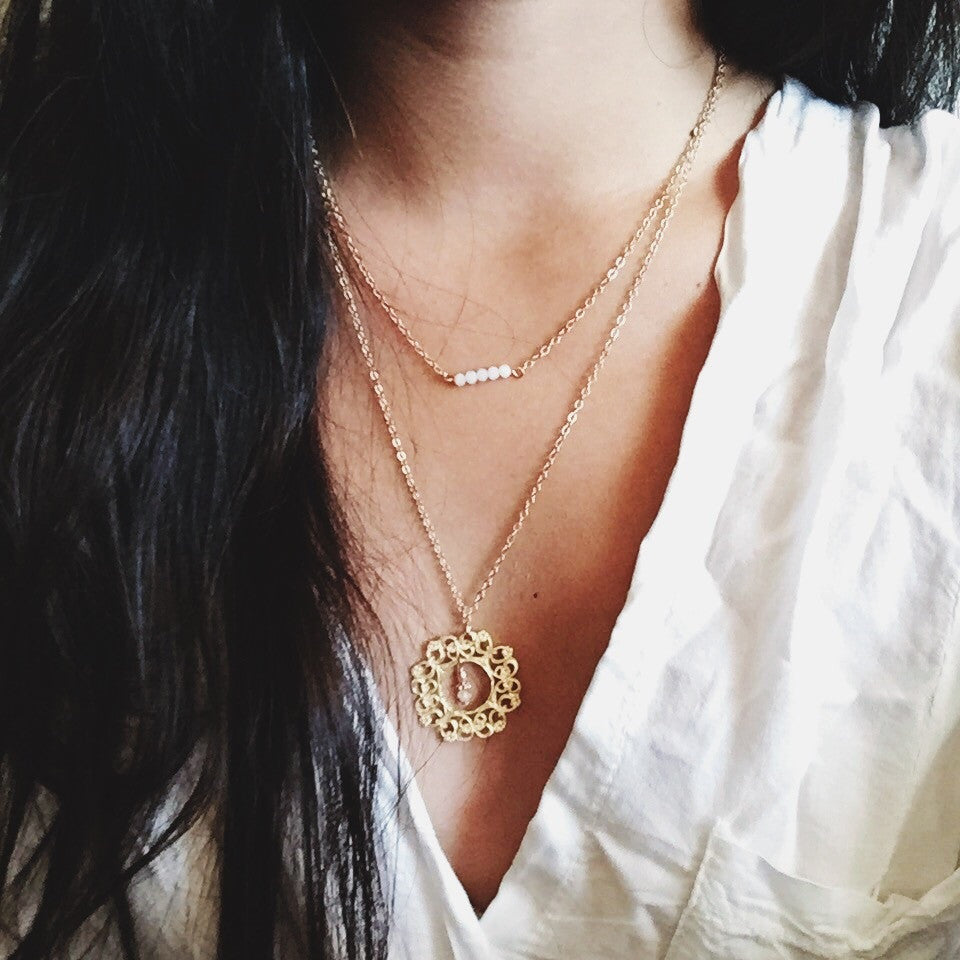 Like the Sun, We Shine Necklace