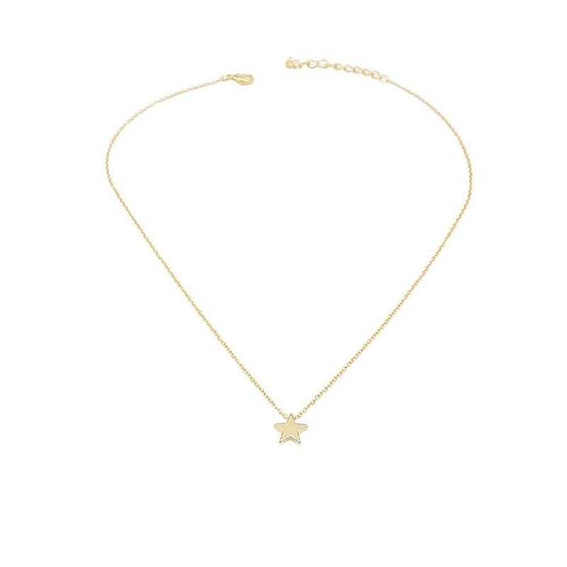 Minimalist Star Charm Necklace