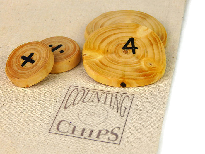 COUNTING CHIPS - 25 Piece Set