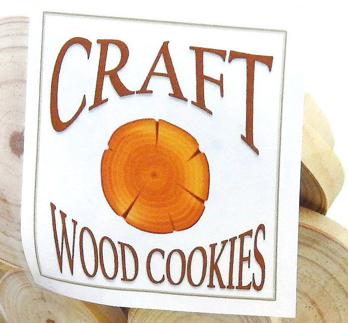 CRAFT COOKIES - Wood Slice