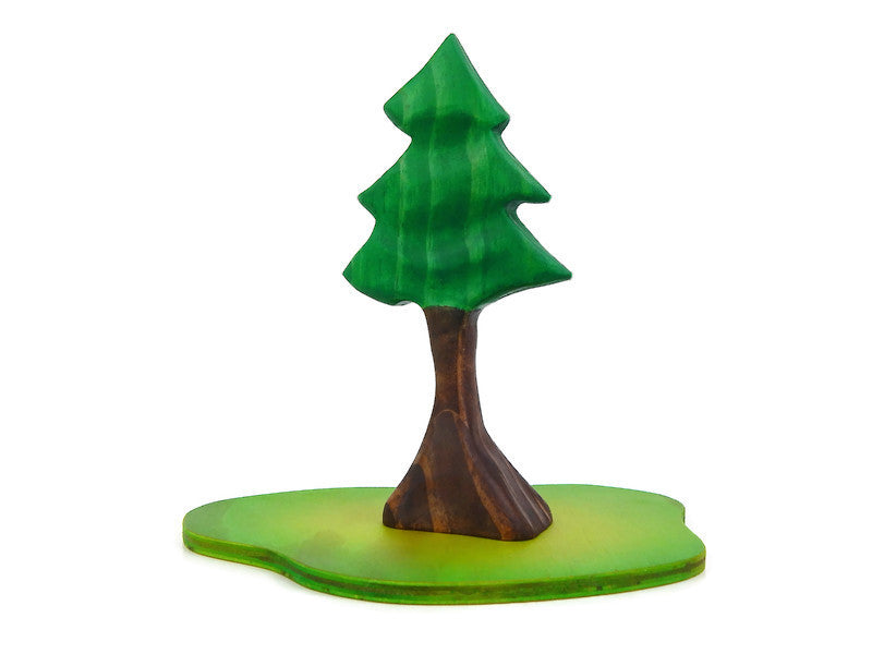 SPRUCE TREE - Contoured, Small.