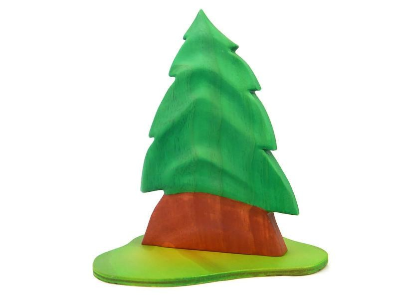 FIR TREE - Full Foliage, Contoured