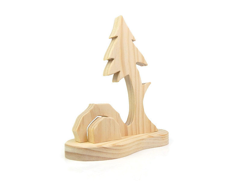BLACK FOREST TREE AND CAVE SET