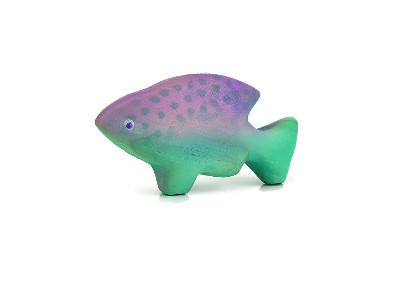 FISH - Purple & Turquoise.