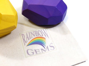 RAINBOW GEMS - 18 piece set