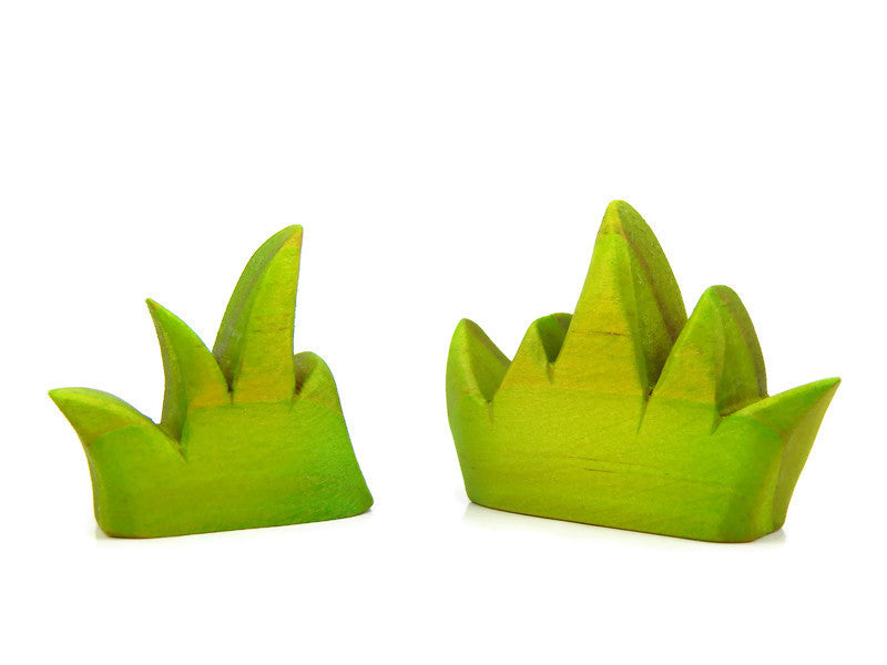 FANTASY FOREST GRASS -  2 Piece set, Green.