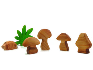 WILD MUSHROOMS - 4 Piece Set.