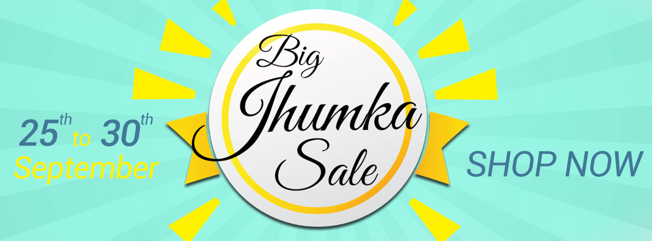 Big Jhumka Sale | Shop Online Jewellery